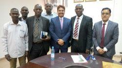 Visite de SEM. Anjani Kumar, Ambassadeur de l'Inde au Mali à la DNAM